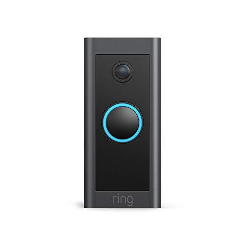 Wir stellen vor: Ring Video Doorbell Wired von Amazon – HD-Video Türklingel, fortschrittliche Bewegungserfassung, festverdrahtete Installation   Mit 30-tägigem Testzeitraum für Ring Protect