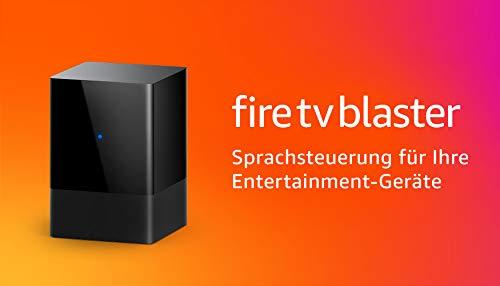 FireTVBlaster│Alexa-Sprachsteuerung (An/Aus und Lautstärke) für Home-Entertainment-Geräte (kompatibles FireTV- und Echo-Gerät erforderlich)