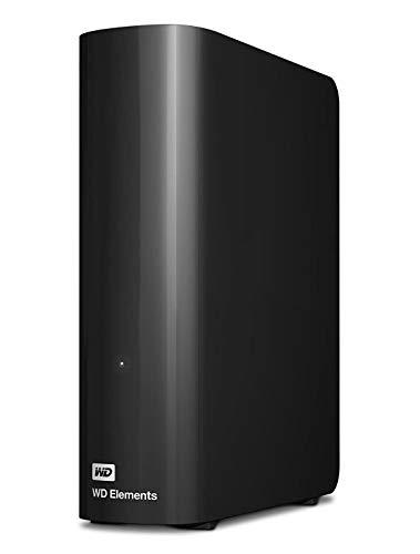Western Digital 10TB Elements Desktop externe Festplatte USB3.0 -WDBWLG0100HBK-EESN