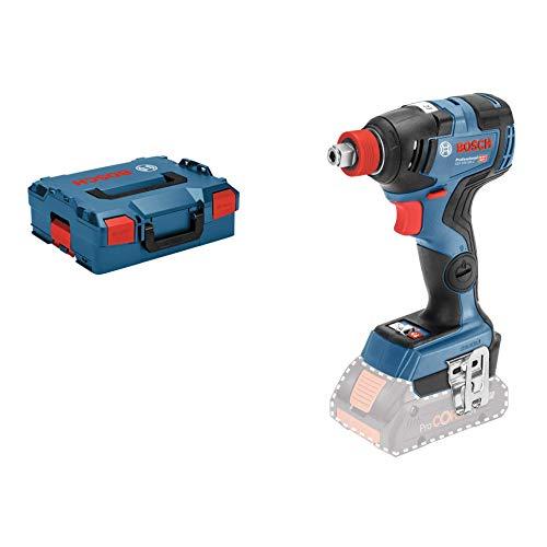 Bosch Professional 18V System Akku Drehschlagschrauber GDX 18V-200 C (max. Drehmoment: 200 Nm, 1/4 Zoll-Innensechskant und 1/2 Zoll-Außenvierkant, Connect Ready, ohne Akkus und Ladegerät, in L-BOXX)