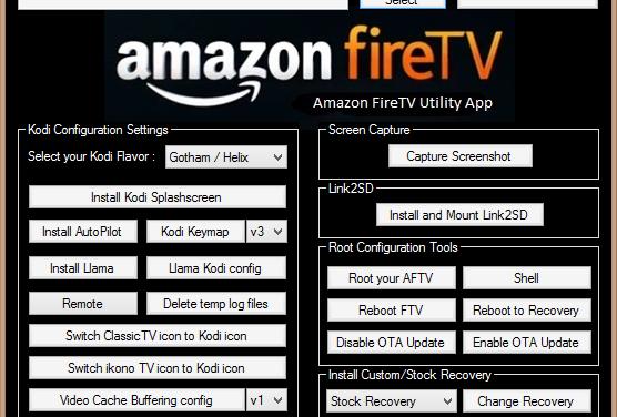 Neue Version 0.25 von Amazon Fire TV Utility App veröffentlicht