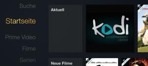 Beliebige Apps auf dem deutschen Amazon Fire-TV vom Startbildschirm aus starten