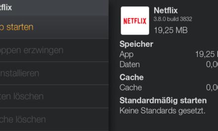 Anleitung: Netflix auf dem deutschen Amazon Fire TV installieren
