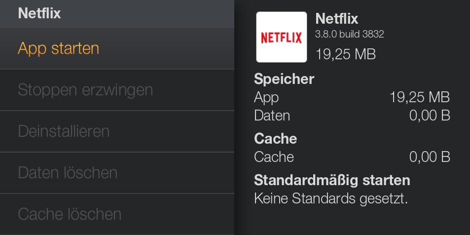 Anleitung zur Installation von Netflix auf dem deutschen Amazon Fire TV vor dem offiziellen Start der Netflix App