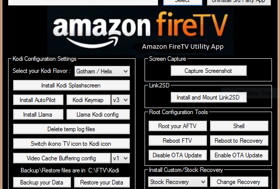 Amazon Fire TV Utility App Version 0.26 erschienen