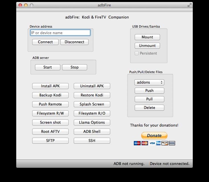 adbFire 1.14 veröffentlicht: kleine Bugfixes, bessere Hilfe & Root-Funktionen optimiert