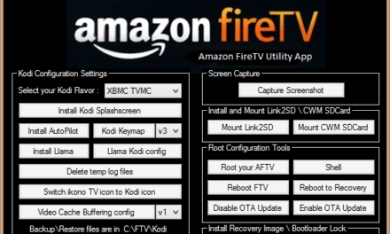 Update: Amazon Fire TV Utility App 0.32 erschienen