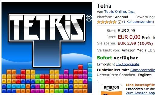 Mogelpackung: Tetris ab heute kostenlos – aber nur Trial