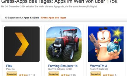 Tipp: Wieder 40 Android-Apps im Wert von 175€ gratis bei amazon – 8 fürs Fire TV!
