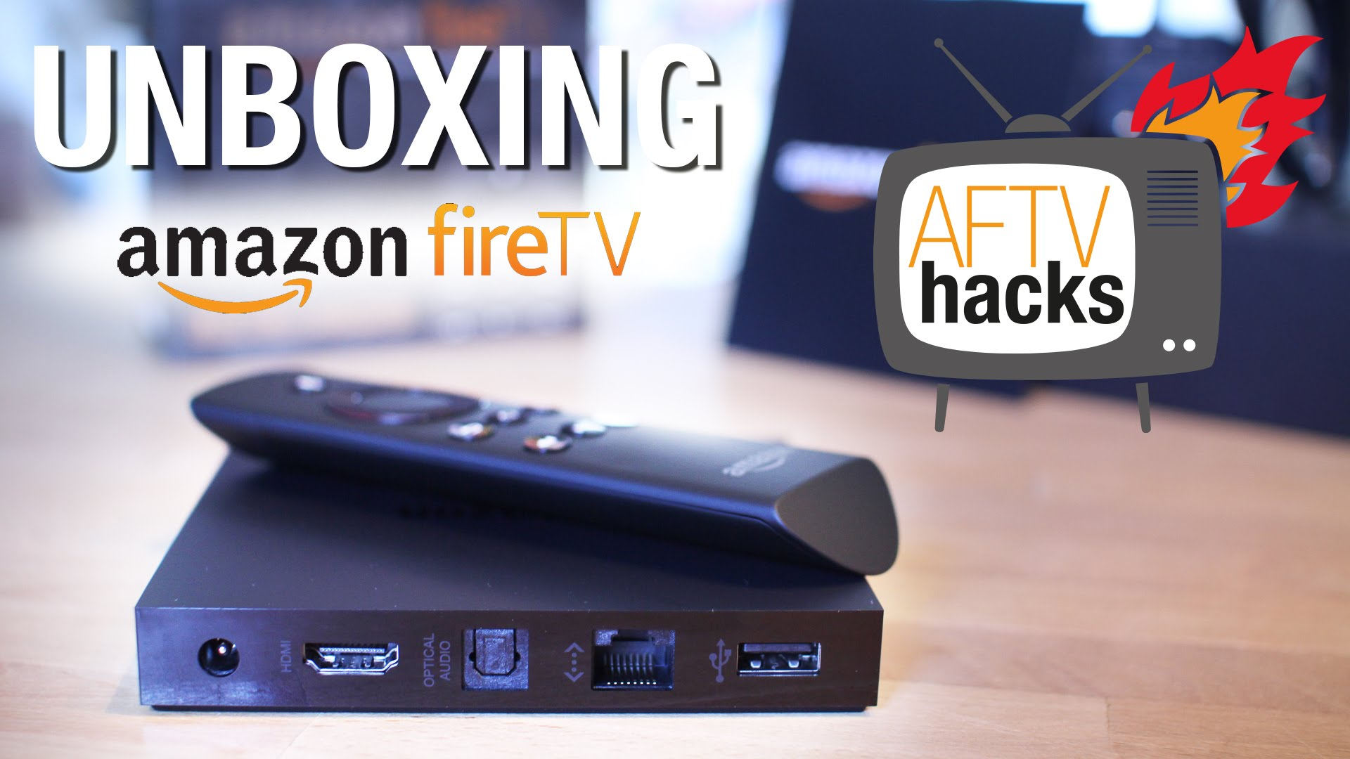 Unboxing-Video des deutschen Amazon Fire TV