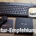 Unsere Fire TV Tastatur Empfehlung: Logitech K400