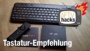 Tastaturempfehlung Amazon Fire TV Logitech K400 Wireless Touch Tastatur
