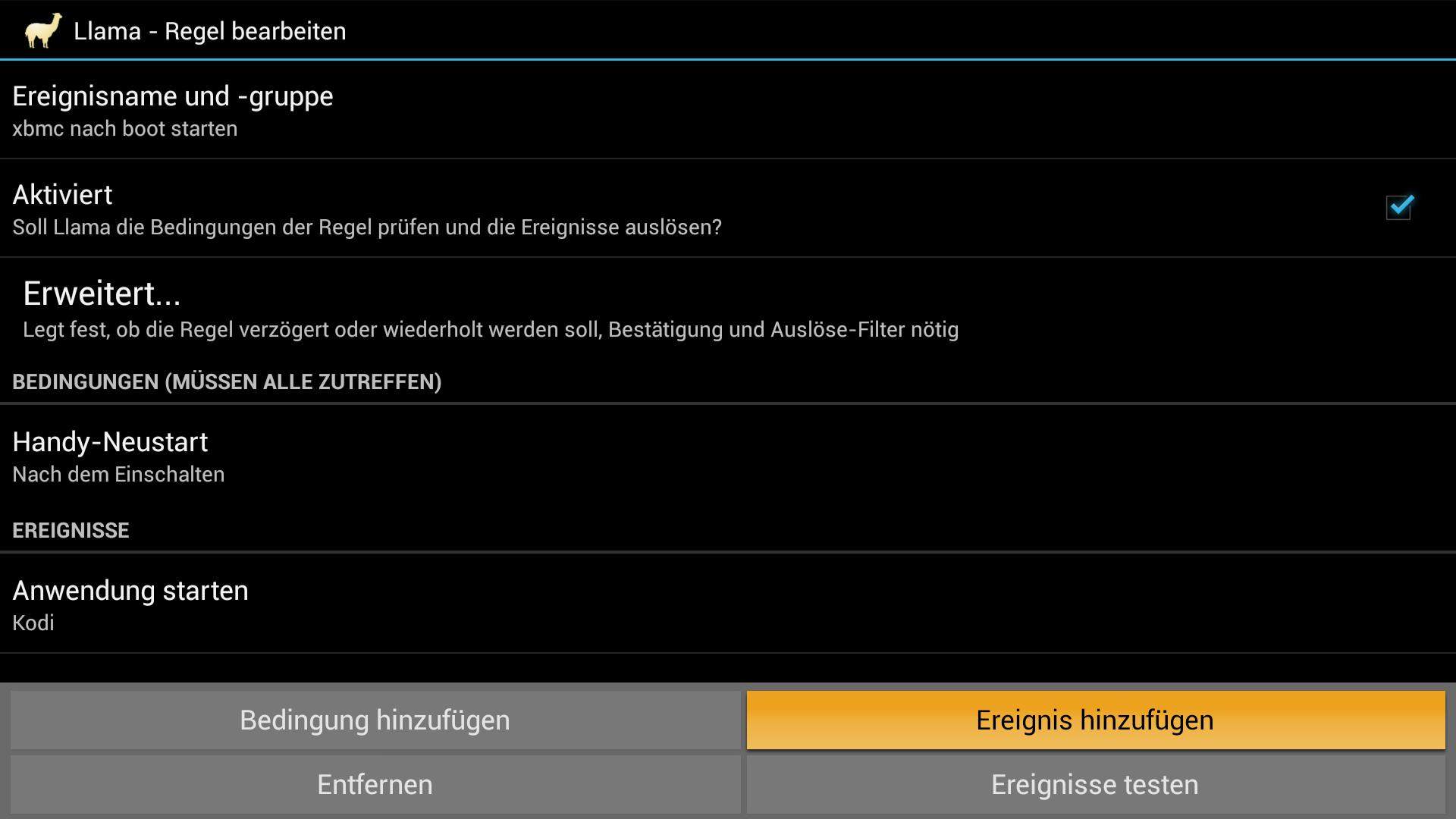 Anleitung: XBMC/Kodi automatisch nach dem Booten des FireTV starten