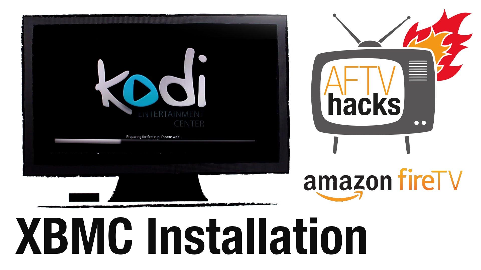 XBMC Kodi auf dem amazon Fire TV installieren - Deutsche Anleitung