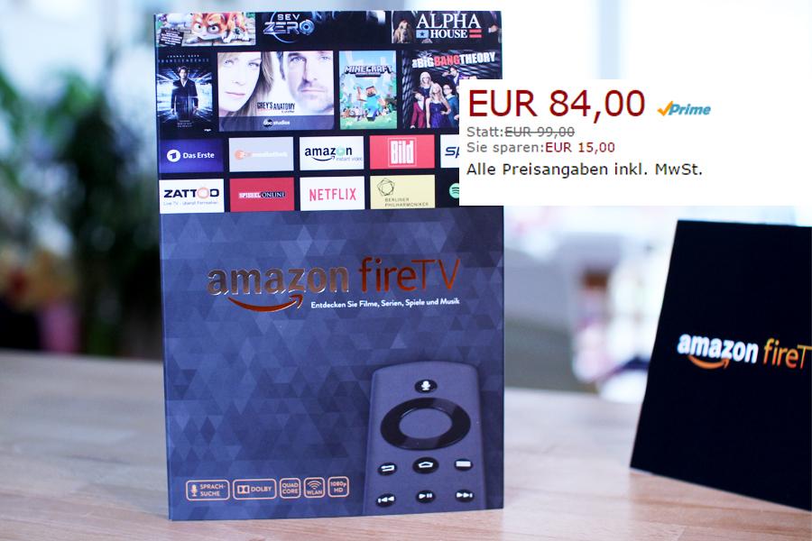Preissenkung: Amazon Fire TV jetzt billiger – Ab heute nur 84€!