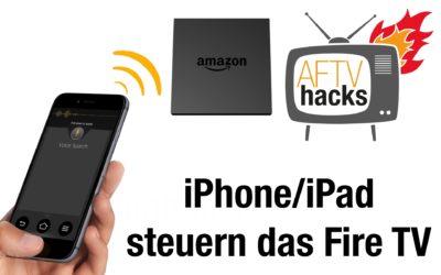 Amazon Fire TV Fernbedienung App im deutschen iTunes-Store erschienen