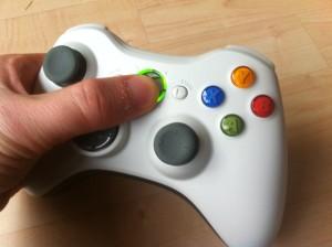 Xbox Controller anschalten durch Drücken der Guide-Taste