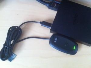 Xbox Wireless Controller USB-Empfänger an Amazon Fire TV anschließen