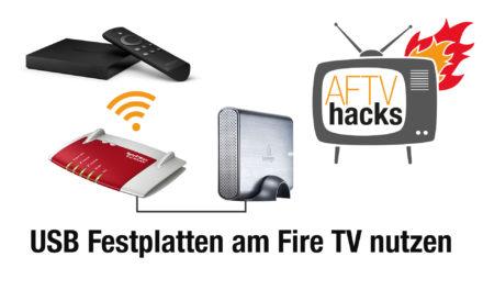 Anleitung: Vom Fire TV mit Kodi auf an der Fritz!Box angeschlossene USB-Festplatten zugreifen
