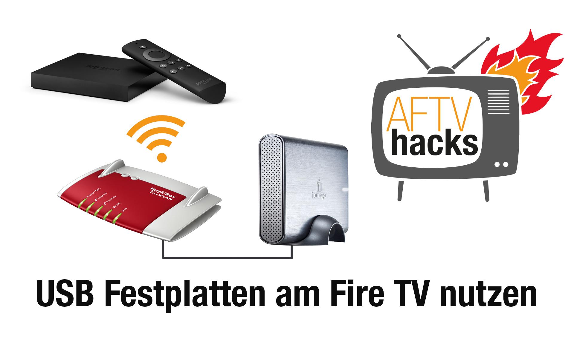 vom fire tv auf usb festplatten an router zugreifen. Black Bedroom Furniture Sets. Home Design Ideas