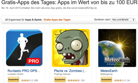 Deal: 26 kostenlose Apps bei Amazon – 4 fürs Fire TV, 2 für Stick