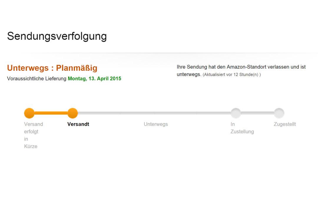 Unser erster deutscher Amazon Fire TV Stick wurde versendet!
