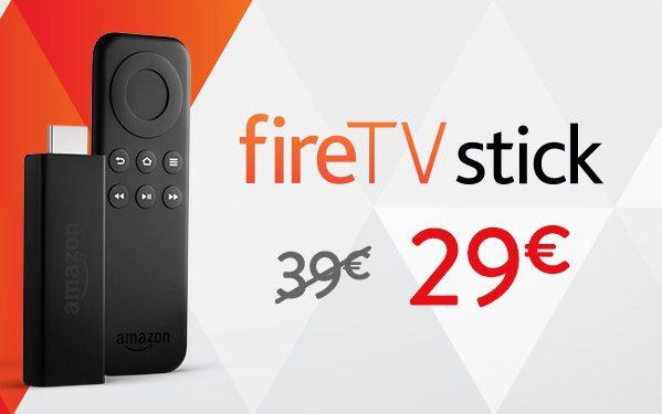 Deal: Amazon Fire TV Stick 1 auf 29€ reduziert