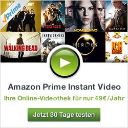 Amazon Prime Instant Video jetzt 30 Tage lang kostenlose testen