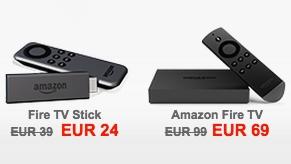 Fire TV & Fire TV Stick stark reduziert