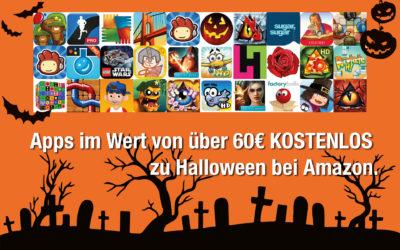 Apps im Wert von über 60€ KOSTENLOS zu Halloween bei Amazon.