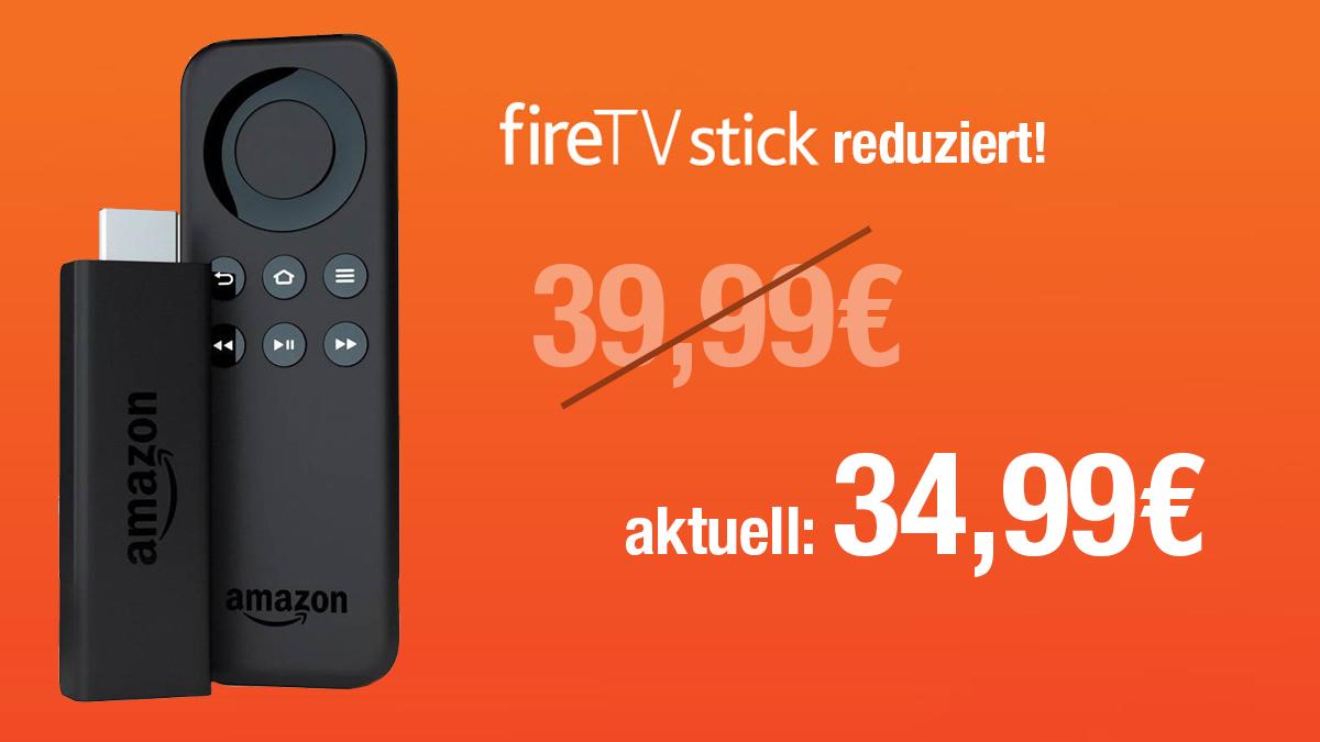 Deal: Amazon Fire TV Stick auf 34,99€ reduziert