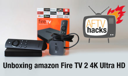 Unboxing-Video des neuen Amazon Fire TV 2 mit 4K Ultra HD – deutsch