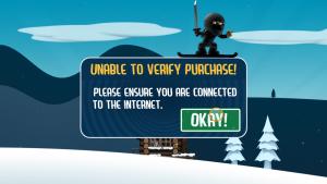 Fehlermeldung: Google Play Store auf dem Fire TV - In-App-Purchase kann nicht verifziert werden