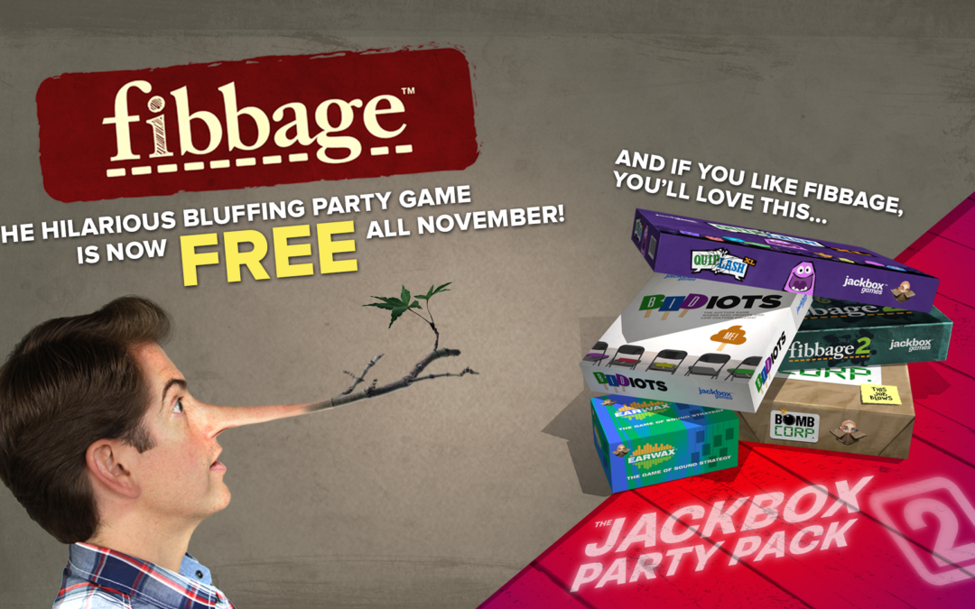 Deal: Party-Game Fibbage für bis zu 8 Spieler komplett kostenlos