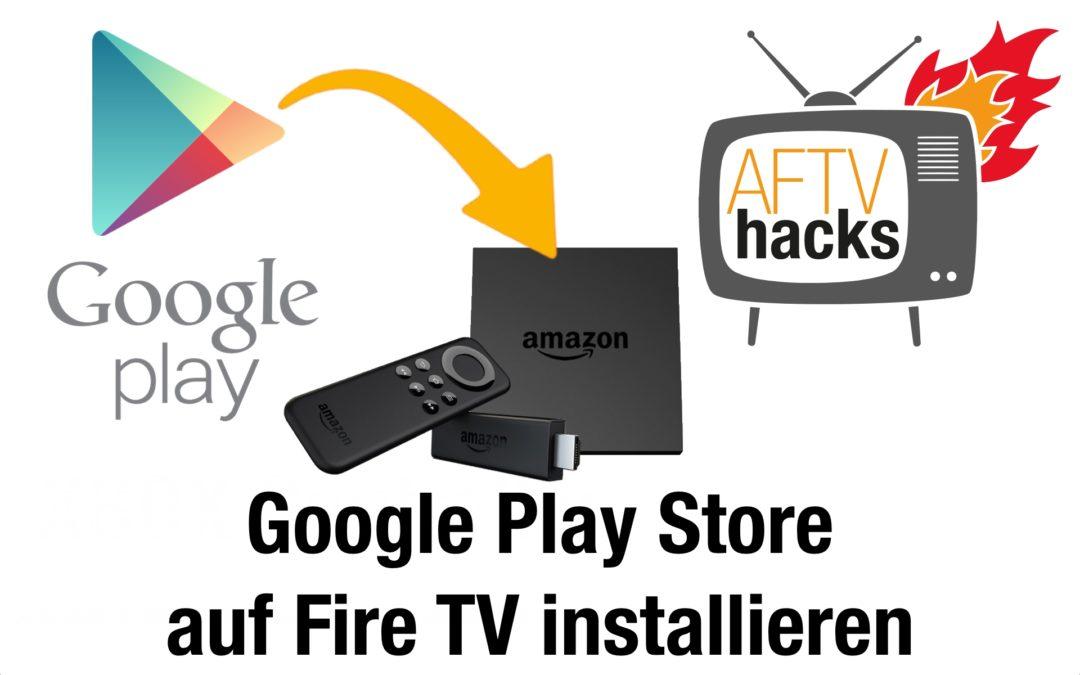 Anleitung: Wie man auf dem Fire TV Apps installiert, die den Google Play Store benötigen – am Beispiel von Maxdome