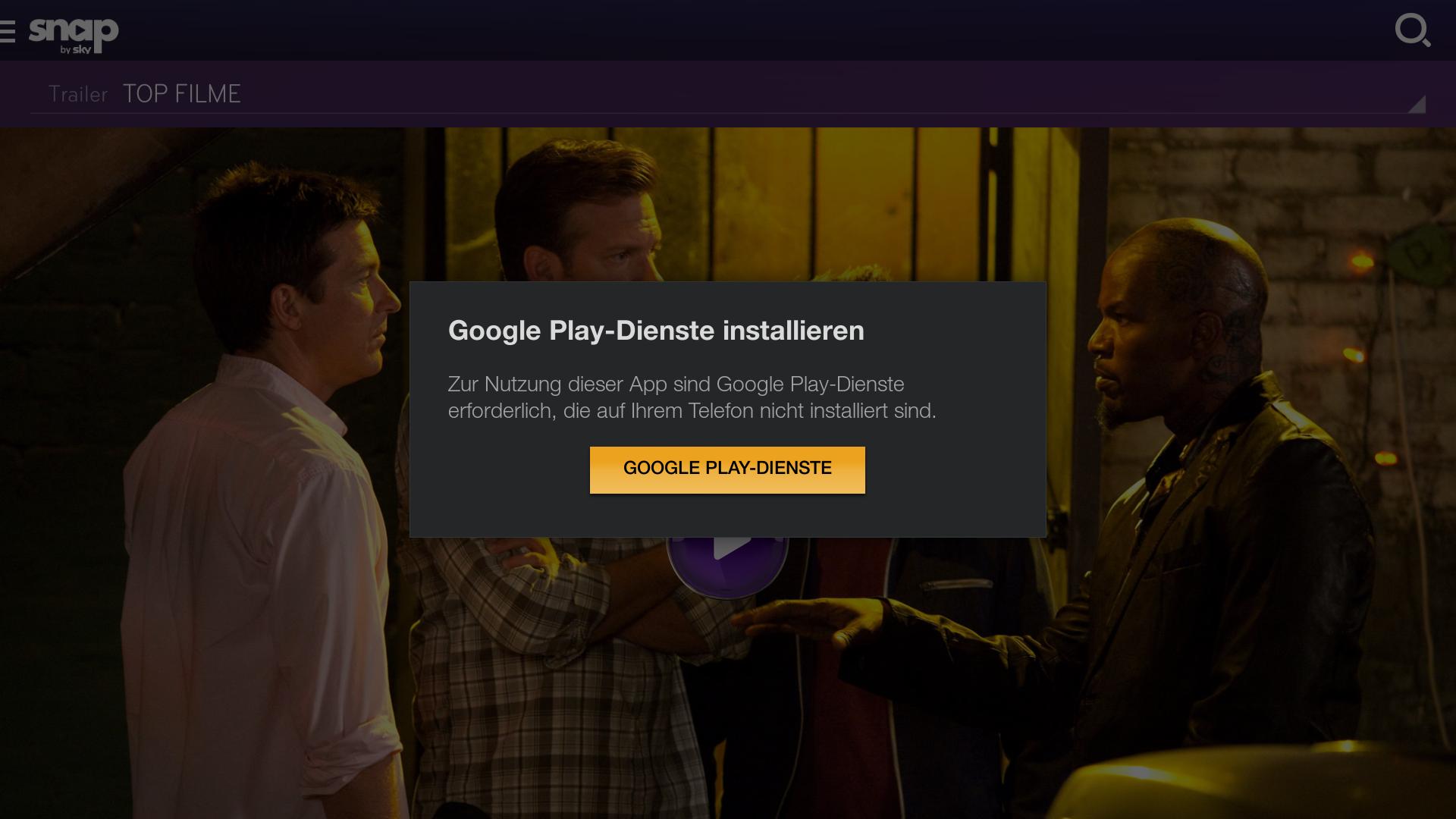 google play installiert nicht