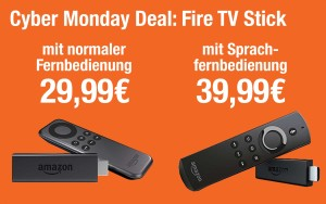Amazon Fire TV Stick im Angebot bei den Amazon Cyber Monday Deals