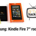 "Amazon Kindle Fire 7"" Tablet rooten und Google Play Store intallieren"