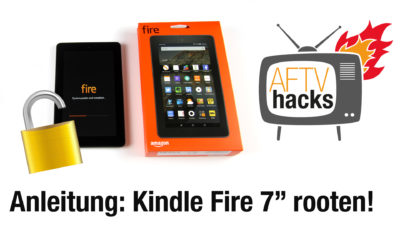 Anleitung: Kindle Fire 7″ Tablet rooten (2015er Modell)