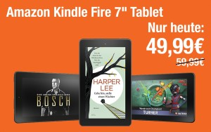"Amazon Kindle Fire 7"" Tablet für nur 49,99€"