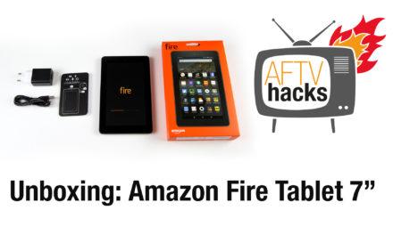 Unboxing & Ersteindruck: Amazon Fire 7″ Tablet für 59,99€