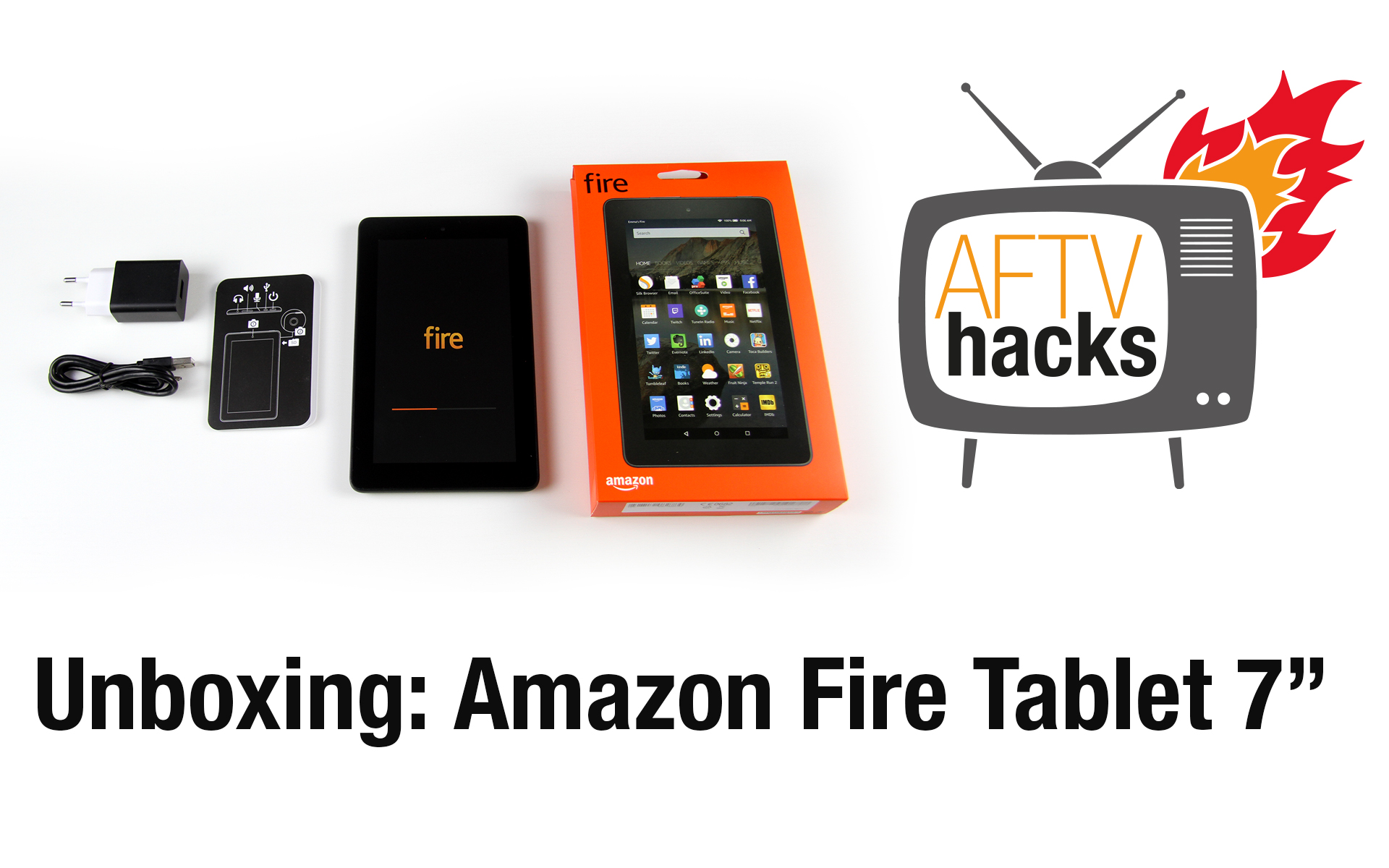 Unboxing & Ersteindruck: Amazon Fire 7″ Tablet für 59,99€