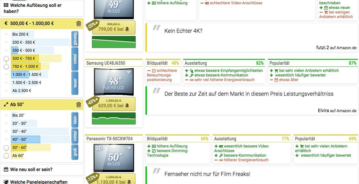 Beta-Tester gesucht: Fernseher-Suchmaschine Tibi-TV