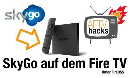 Anleitung: SkyGo auf dem Fire TV installieren & vom Startbildschirm starten