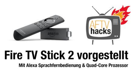 Amazon bringt neuen Fire TV Stick 2 mit Alexa Sprachfernbedienung und Quadcore Prozessor