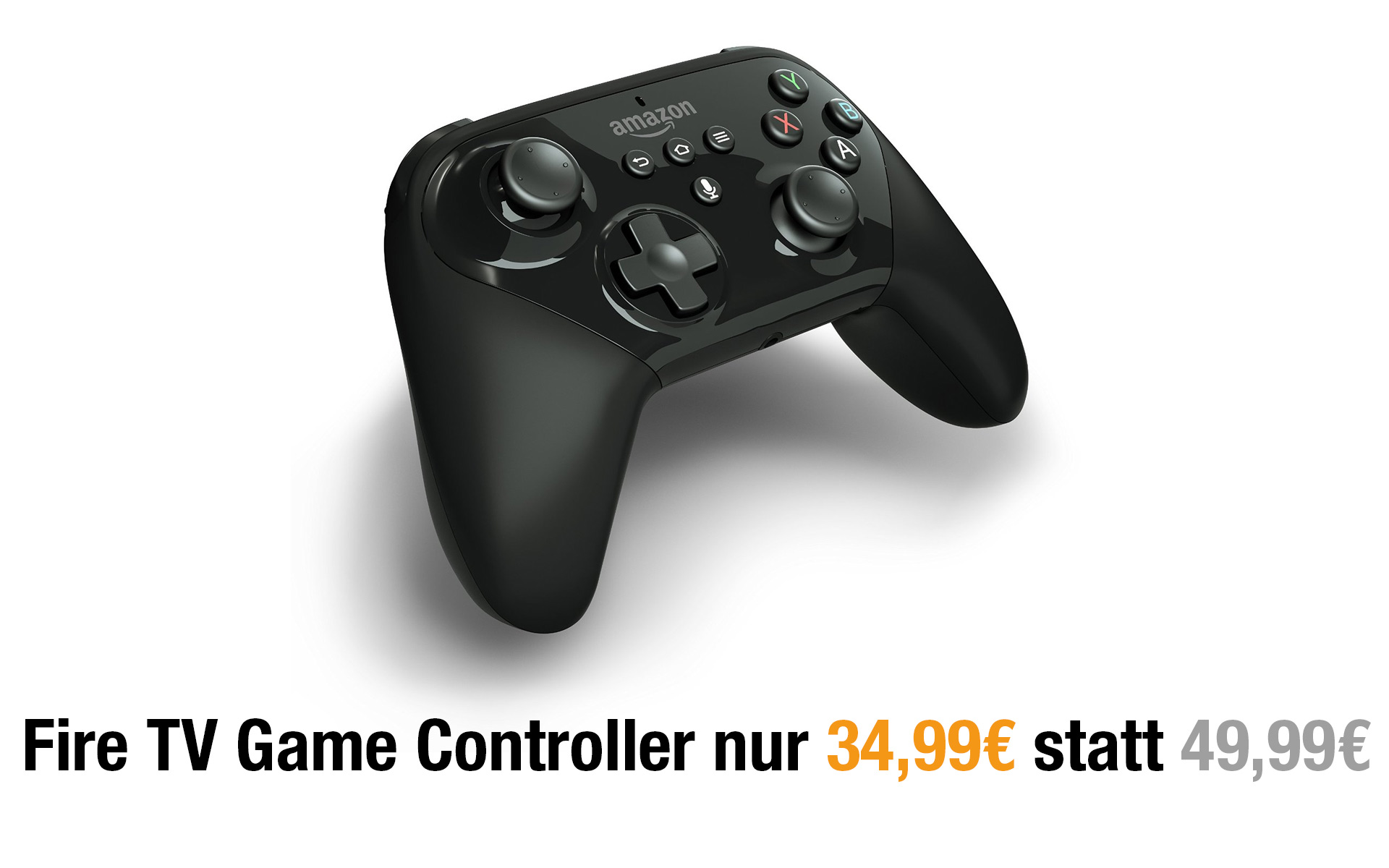 Deal: Amazon Fire TV Gamecontroller momentan reduziert!