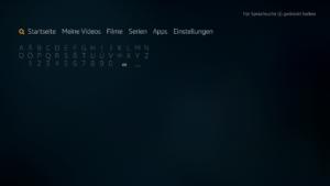 Die Fire TV Suche ab Firmware 5.2.4.0 - hier hat sich nichts groß geändert