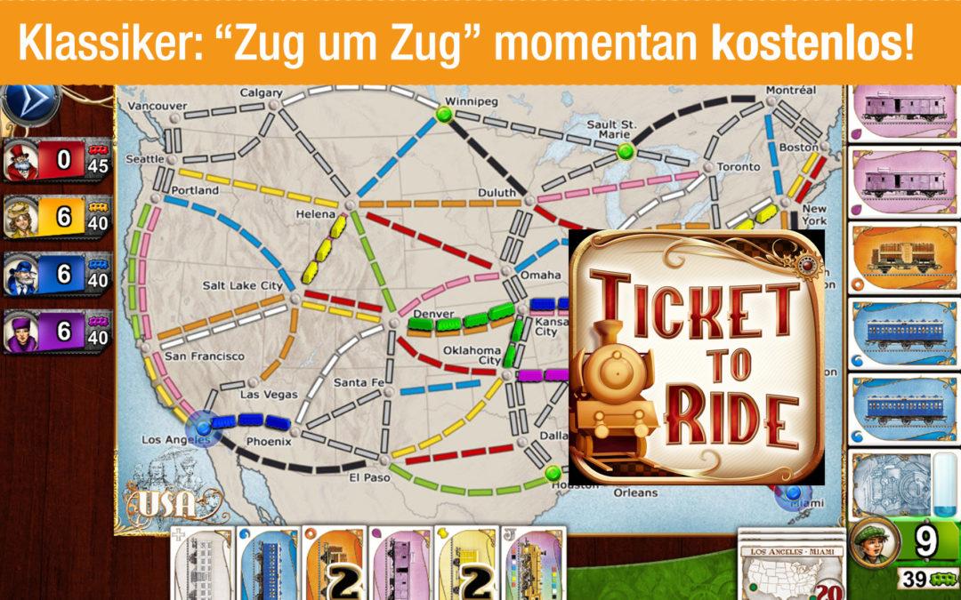 """Deal: Game """"Zug um Zug"""" aktuell kostenlos auf Amazon"""