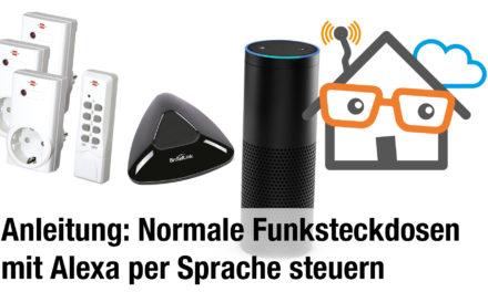 Anleitung: Günstige Funksteckdosen dank Broadlink mit Amazon Echo per Sprache steuern