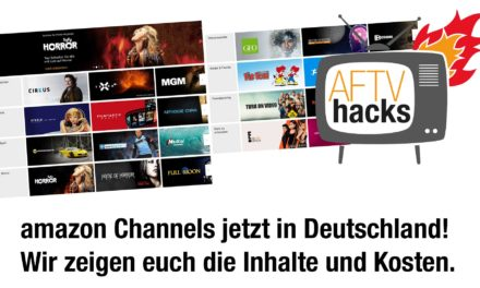 Amazon Channels starten in Deutschland – Was verbirgt sich dahinter? Welche Inhalte sind verfügbar und wie hoch sind die Kosten?